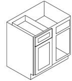 Blind Base Corner Cabinet Right
