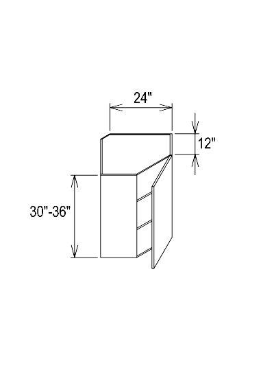 Wall Diagonal Corner