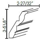Crown Molding-CM96-4