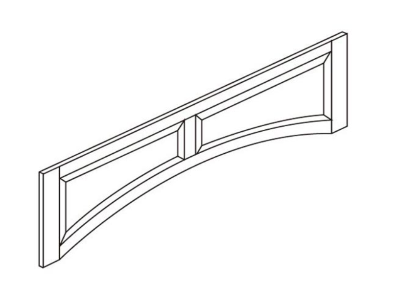 Hood Arched Valance