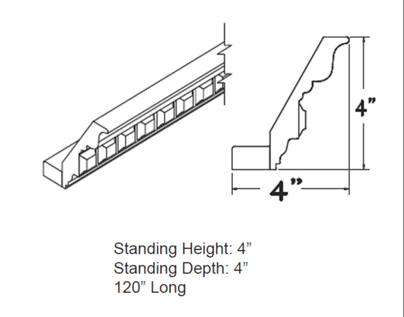 Moldings - Large Dental