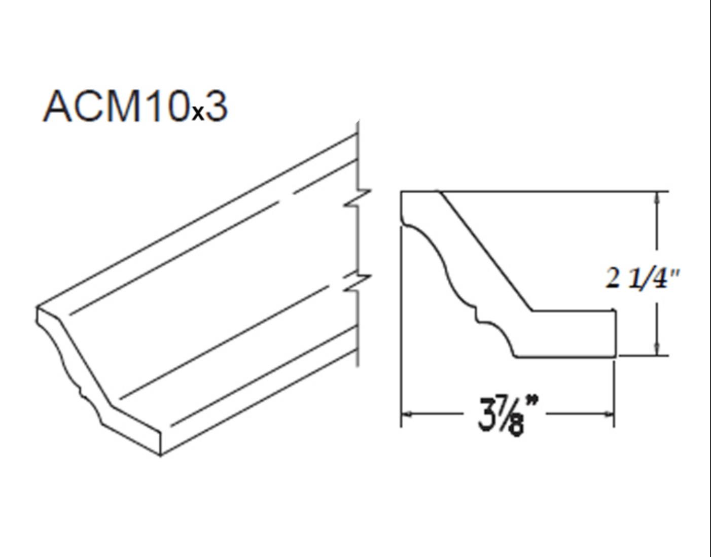 Moldings - Large Crown - 3