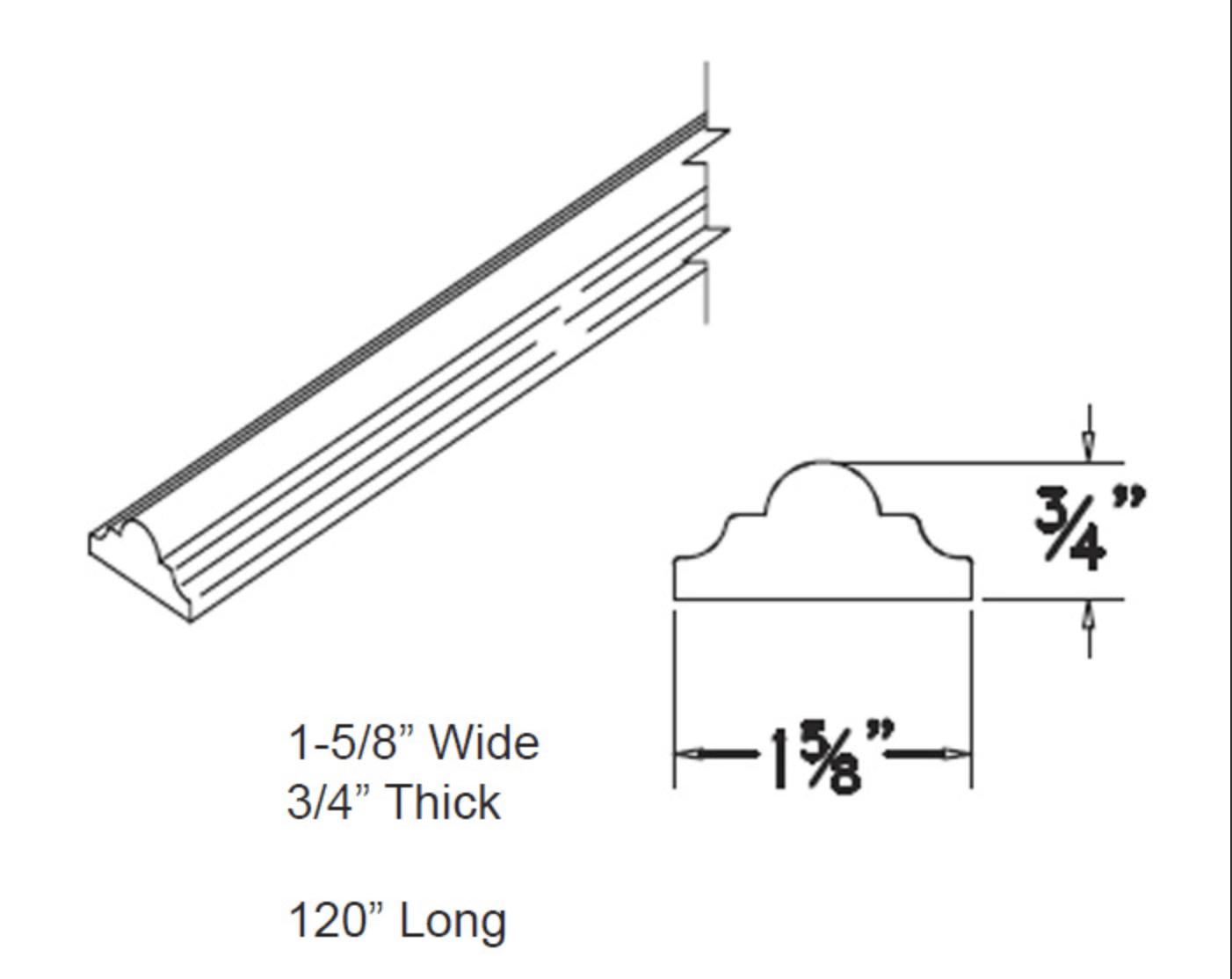 Moldings - Chair Rail - Full