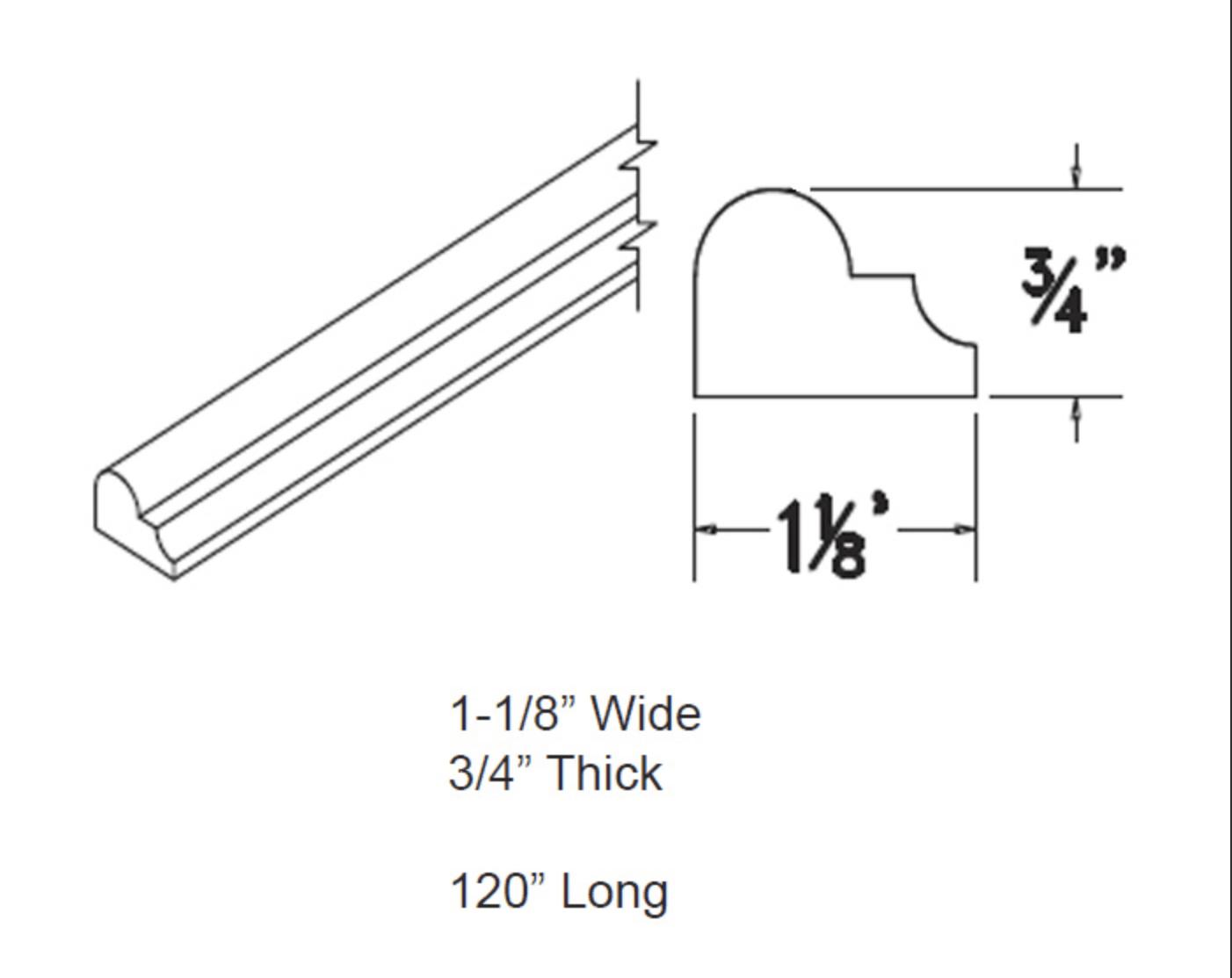 Moldings - Chair Rail