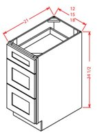 Vanity Drawer Base Cabinets