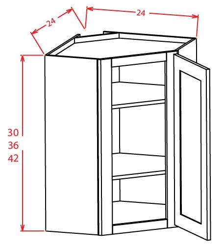 Wall Diagonal Corner Cabinet