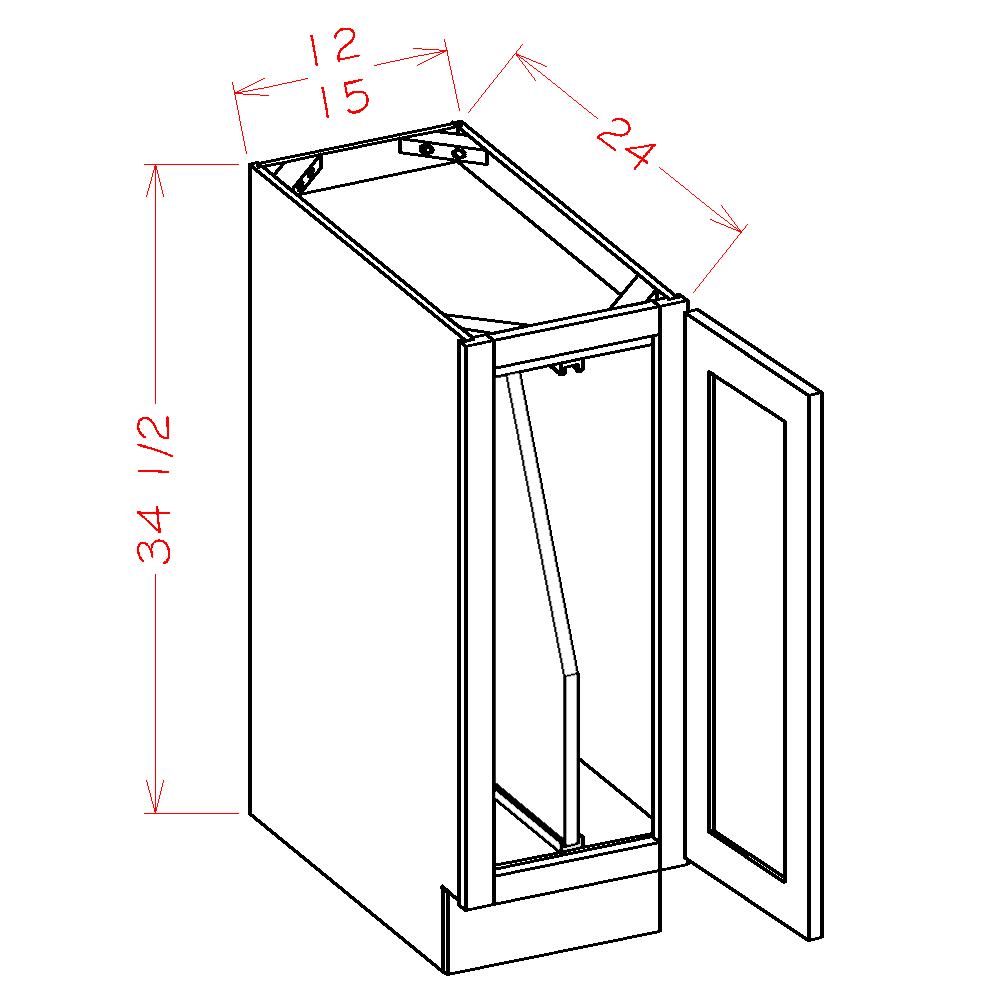 Full Height Door Tray Divider Base Kits