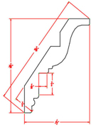 Inset Crown Molding