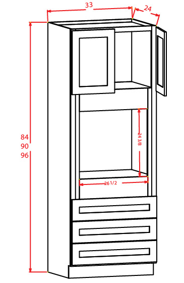 Universal Oven Cabinet