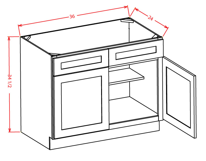 Sink Base Cabinets